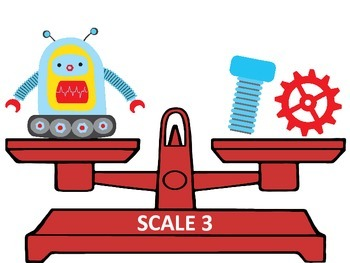 Balance the Scales: Robots - Algebraic Thinking for Young Learners