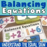 Balanced Addition First Grade Common Core Math 1.OA.7