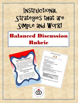 Balanced Discussion:  How to help all students start talking!