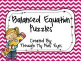 Balanced Equation Puzzles