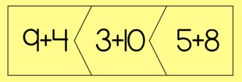 Balanced Equation Puzzles to 20