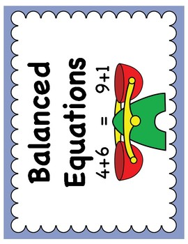Balanced Equations Game