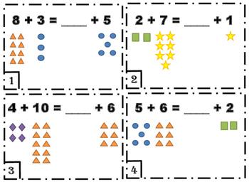 Balanced Equations Task Cards