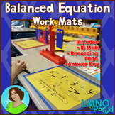 Balanced Equations Work Mats