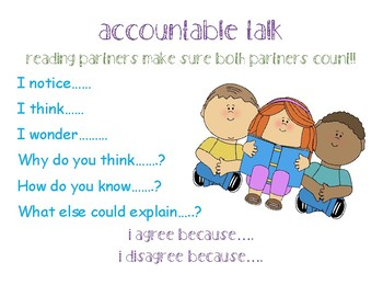 Balanced Literacy- Accountable Talk