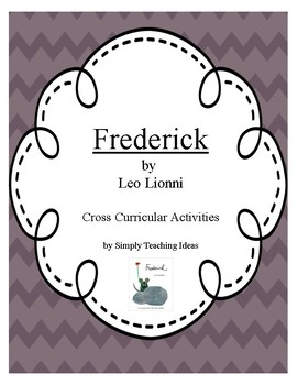 """Balanced Literacy Activities Using """"Frederick"""" by Leo Lionni"""