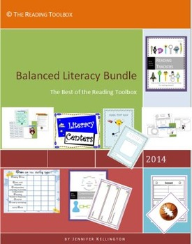 Balanced Literacy Bundle The Best of The Reading Toolbox Literacy Centers