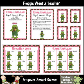 Hawaiian Bingo Worksheets & Teaching Resources   TpT