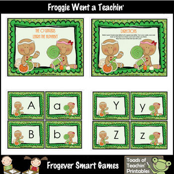St.Patrick's Day--The O'Gingers Learn the Alphabet