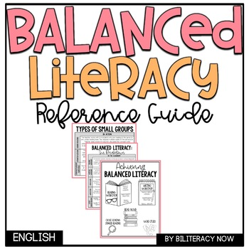 Balanced Literacy Components Quick Reference Guide for Teachers