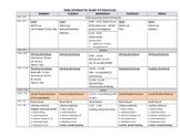 Balanced Literacy Daily Schedule