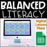 Balanced Literacy Digital Lesson Plans