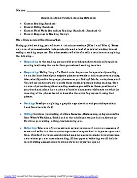 Guided Reading Rotations for Balanced Literacy