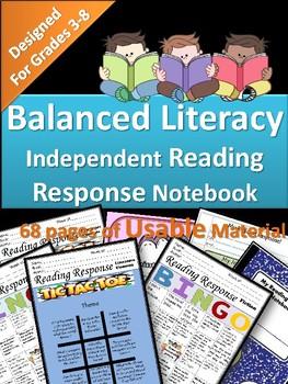 Balanced Literacy: Independent Reading Response!