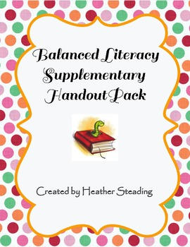 Balanced Literacy Notebook Pack