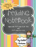 Balanced Literacy Reading Notebook-Launching the Workshop
