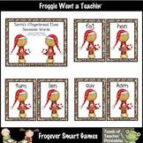 Nonsense Words--Santa's Gingerbread Elves Nonsense Word Cards