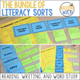 Balanced Literacy Sorting Activities for Reading, Writing,