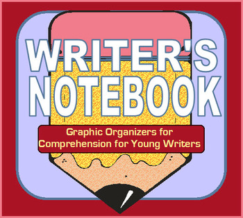 Balanced Literacy - Writer's Notebook Graphic Organizers for Comprehension