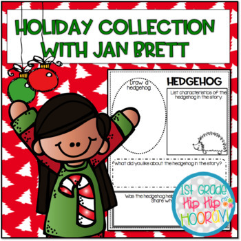 Balanced Literacy and Crafts with Jan Brett Holiday Stories