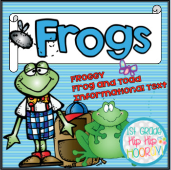 Balanced Literacy with a Frog Theme... Crafts, Literacy, Informational Text