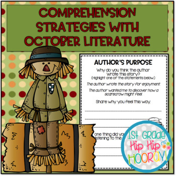 Teaching Comprehension Strategies with Favorite October Literature!