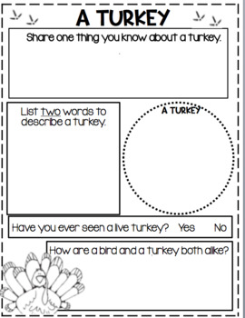 It's Turkey Time...Informational Text and Research for the Primary Child!