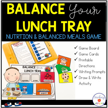 Balanced Meals and Food Groups Game: Balance Your Lunch Tray
