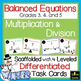 Algebraic Thinking Multiplication and Division