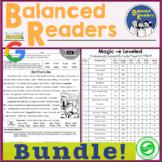 Balanced Readers: Bundle  |  Printable and Digital Versions!