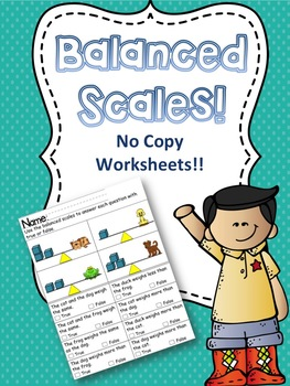 Balanced Scales - Compare the weight