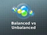 Balanced & Unbalanced Forces TRIVIA!