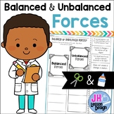Balanced and Unbalanced Forces: Cut and Paste