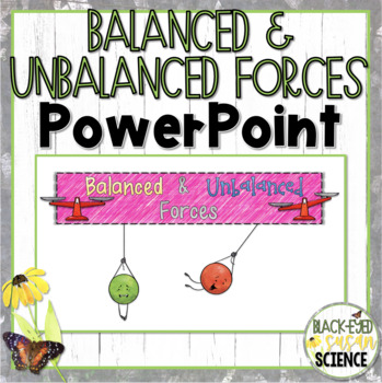 Balanced and Unbalanced Forces Doodle Notes (NGSS) - Power Point