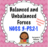 3rd Grade Balanced and Unbalanced Forces NGSS 3-PS2-1