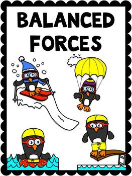 Balanced and Unbalanced Forces Posters