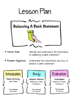Balancing A Bank Statement Lesson