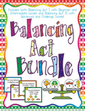 Balancing Act BUNDLE - Task Cards for Balancing Equations