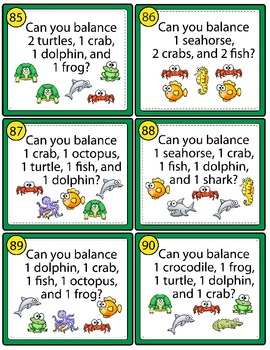 Balancing Act II - Task Cards for Balancing Equations