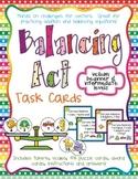 Balancing Act I - Task Cards for Balancing Equations - Addition 1to10