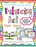 Balancing Act I - Task Cards for Balancing Equations - Add