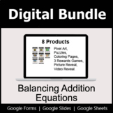 Balancing Addition Equations - Digital Bundle | Distance Learning