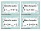 Balancing Addition Equations Task Cards: 1st Gr CC: Proper