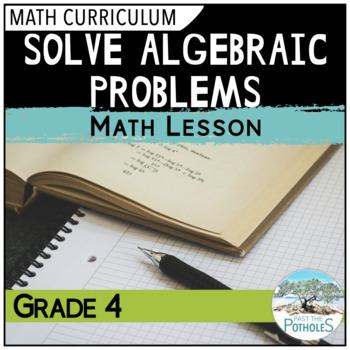 Balancing Algebraic Equations lesson