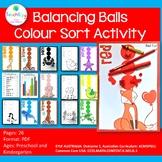 Balancing Ball Color or Colour Sort