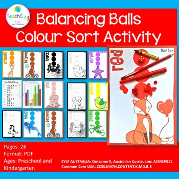 Balancing Ball Color or Colour Sort