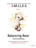 Balancing Bear Breathing Exercise - Shshshsh......