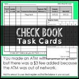 Checkbook Task Cards