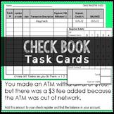 Checkbook Task Cards