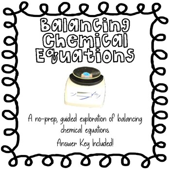 Student Exploration Balancing Chemical Equations Answers ...